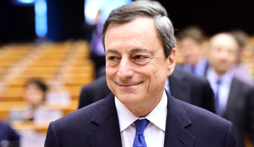 European Central Bank President Mario Draghi Speech ahead...