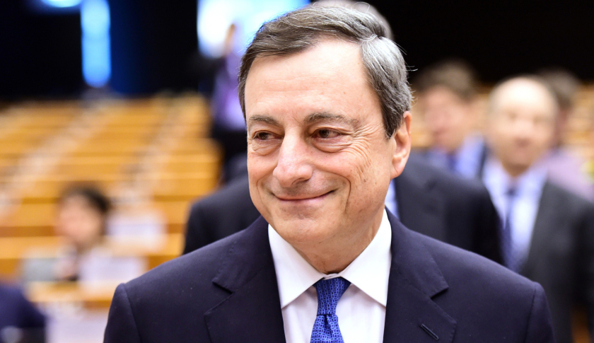 ECB Governor Mario Draghi
