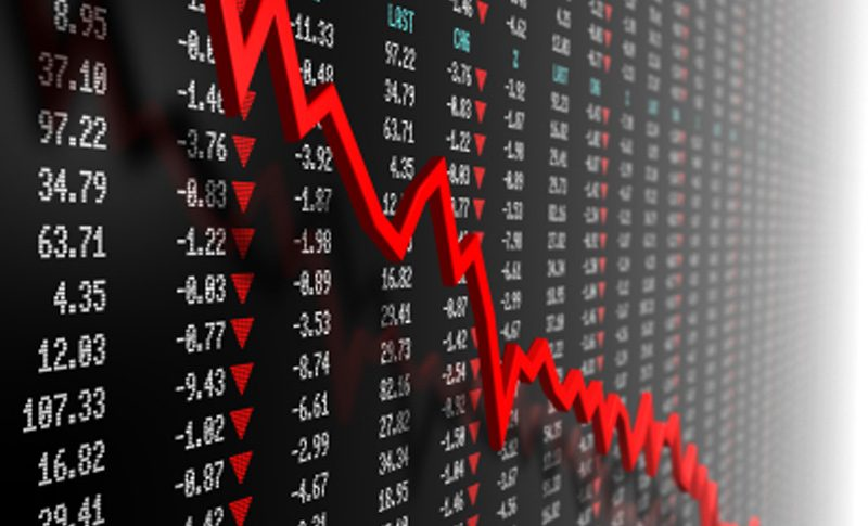 The situation is getting worse in financial markets today as the slide extends further
