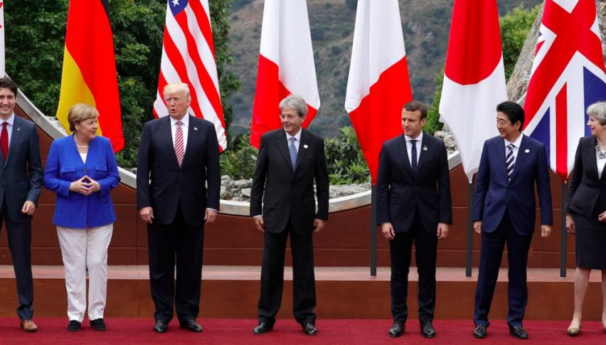 Leaders of the G-7
