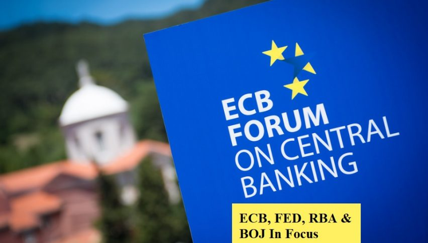 ECB, BOJ, RBA & FED to Participate in Panel Discussion...