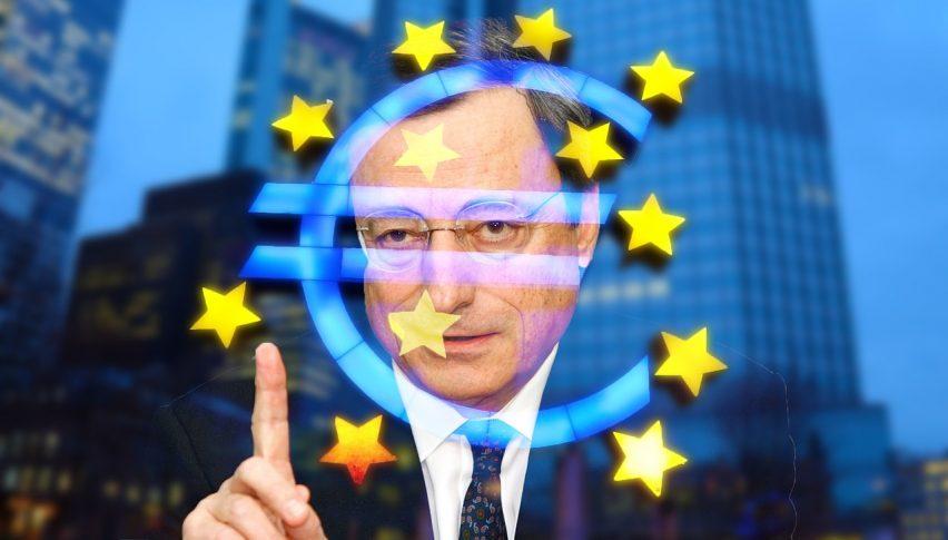 ECB President Draghi In Focus