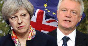 The divorce Between David Davis and Theresa May has happened