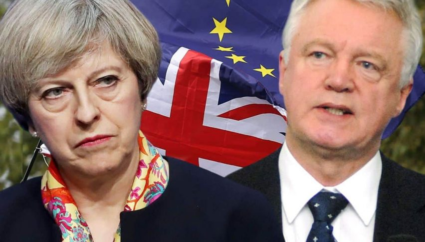 The divorce Between David Davis and Theresa May has happened