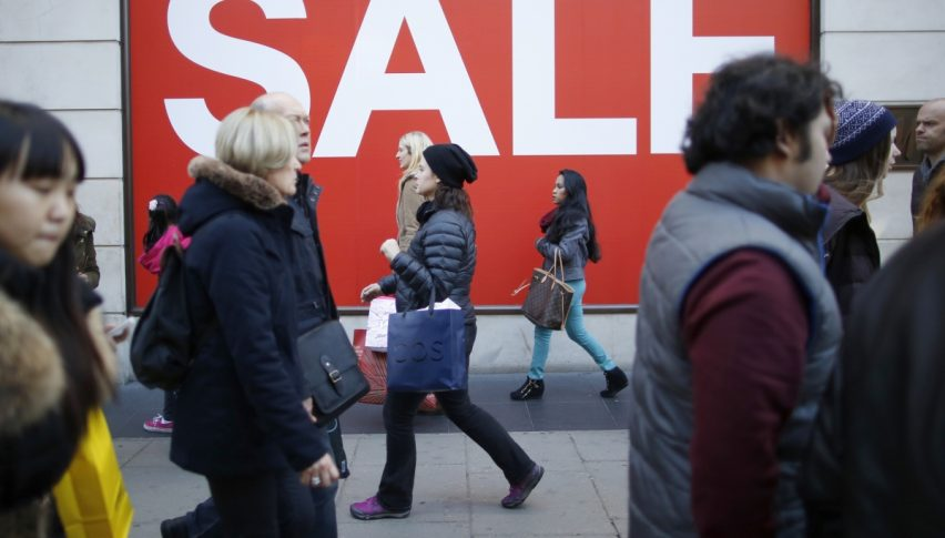 Retail sales took a dive this time in the UK