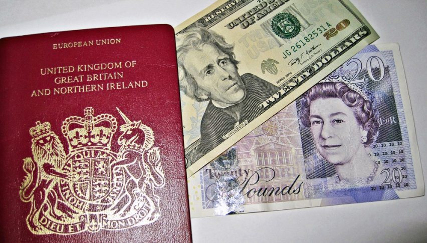The GBP and the British passport are both losing value