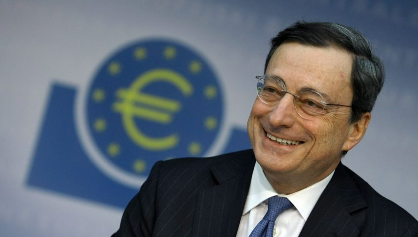 One of the few times Mario Draghi sounded optimistic was last Thursday