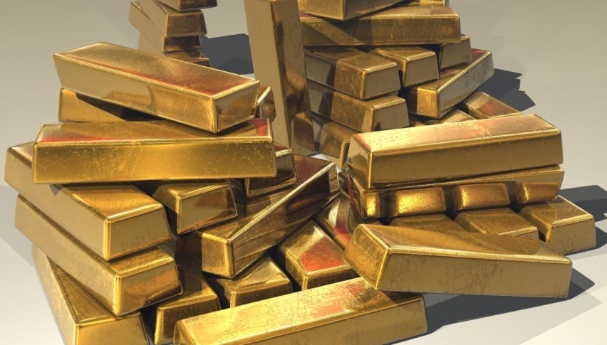 Gold steady as dollar dips, cautious ahead of Fed meeting