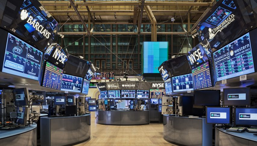 Trading floors are quiet ahead of the big day tomorrow
