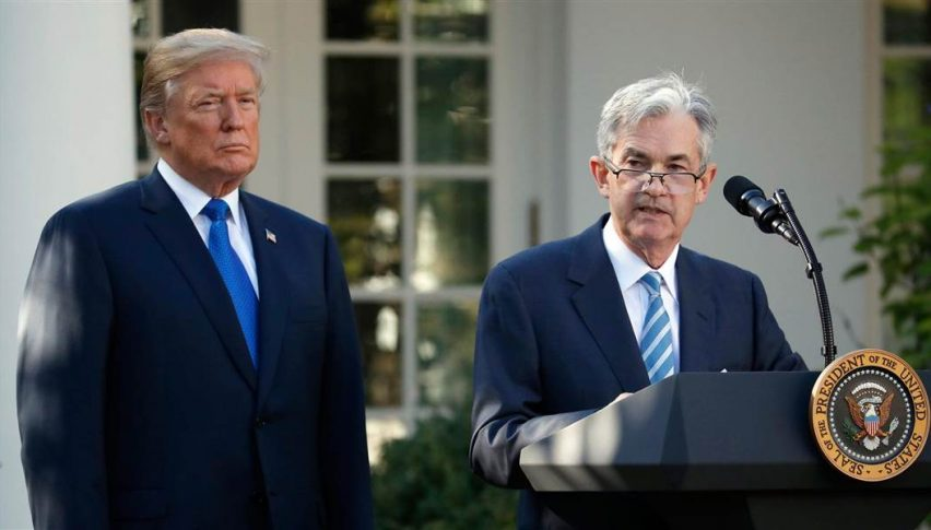Will Powell succumb to Trump for future rate hikes?