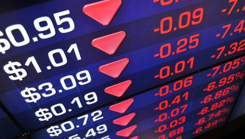 Stock markets are tumbling today