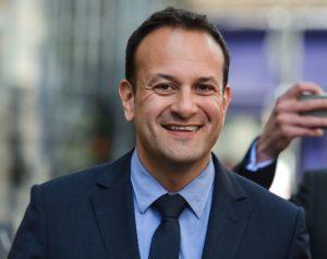 The Irish PM Leo Vadarkar