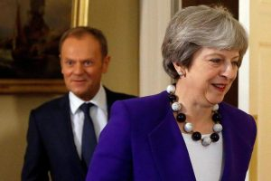 Theresa May leaves the EU summit with no deal