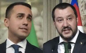 Italian leaders Salvini and Di Maio