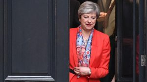 Theresa May might have to find another home next week
