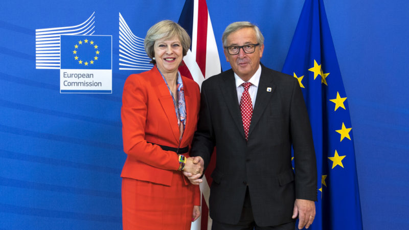 The EU is willing to have May as PM of UK and negotiate with her rather than someone else