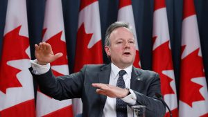 Bank of Canada Governor Stephen Poloz speaks