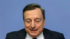 Mario Draghi is holding another speech today