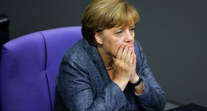 Angela Merkel takes another election blow