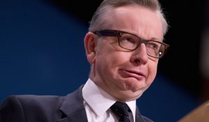 Looks like Michael Gove will be in charge for Brexit now
