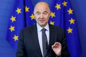EU Budget Commissioner Pierre Moscovici