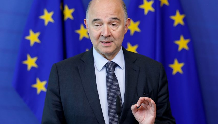 EU Budget Commissioner Pierre Moscovici
