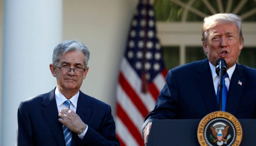 Has Powell succumbed to Trump?