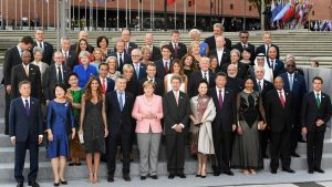 The cast at this G20 Summit in Argentina