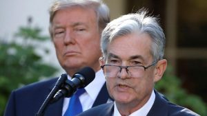 Exactly what Trump wants to hear, hawkish on economy, nothing on rate hikes