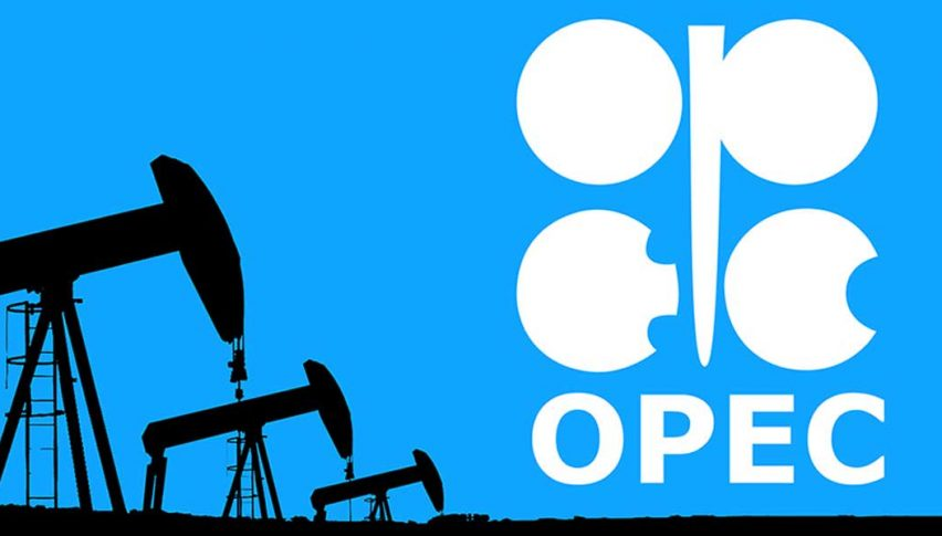 OPEC oil output falls