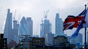 Construction output turned negative once again in Britain