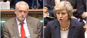 Corbyn wants Theresa May's chair at some point