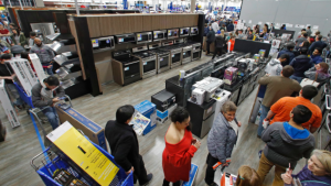 The US consumer didn't feel too well in December
