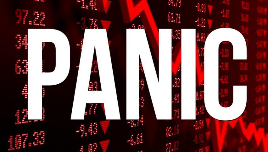 Panic and thin liquidity made the crash possible last night