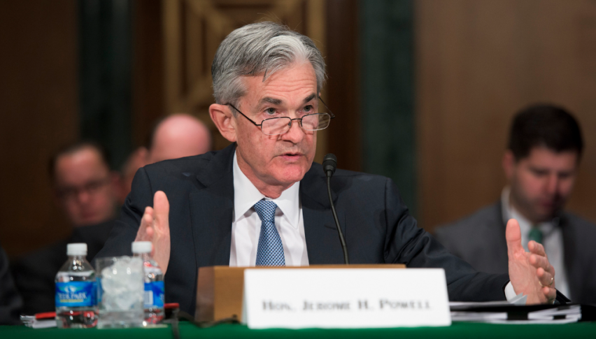 Powell Says Fed Is 'Waiting and Watching' With Patience on Rates