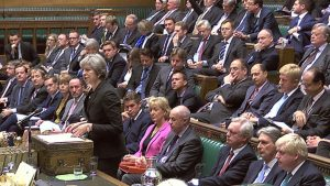 The battle continues in the British Parliament