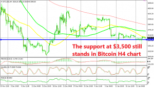 Decision time for Bitcoin. Move above the 50 SMA or below the support?