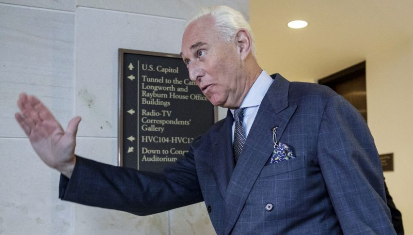 Trump's advise Roger Stone gets arrested