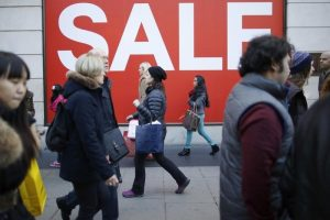 UK shoppers splashed out in January