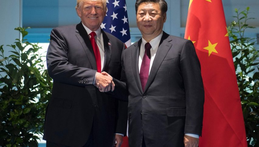 Global markets feel good when the 2 leaders stop fighting