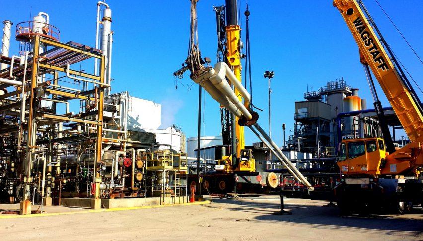 A big build in oil