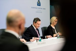 The ECB council and President Draghi