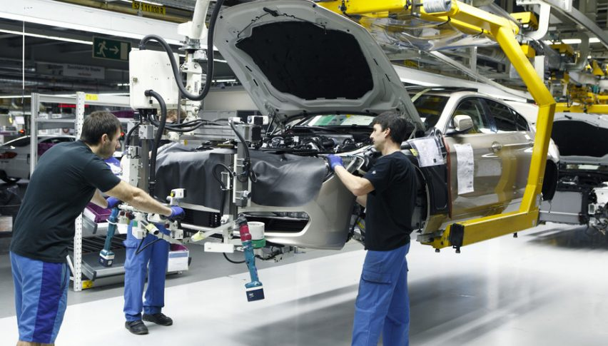 UK car production declines again