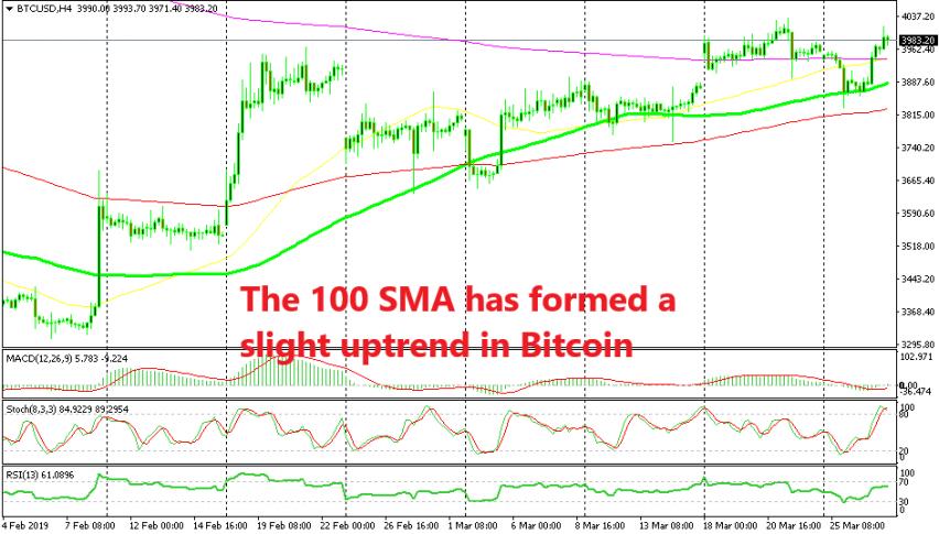 Bitcoin is still on a bullish trend