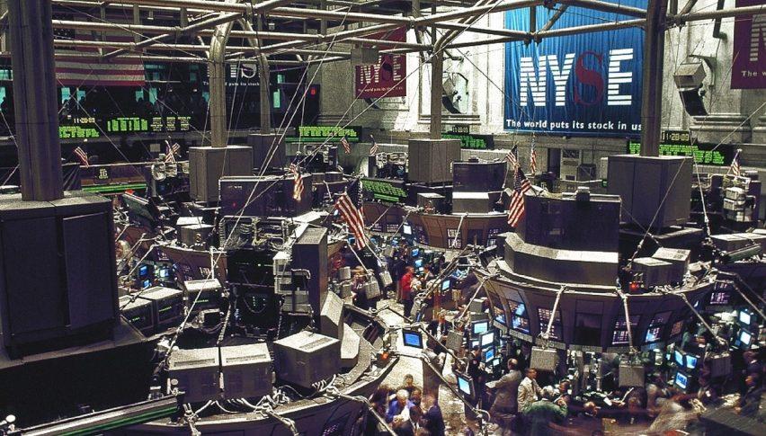 US Stocks Pushing Higher