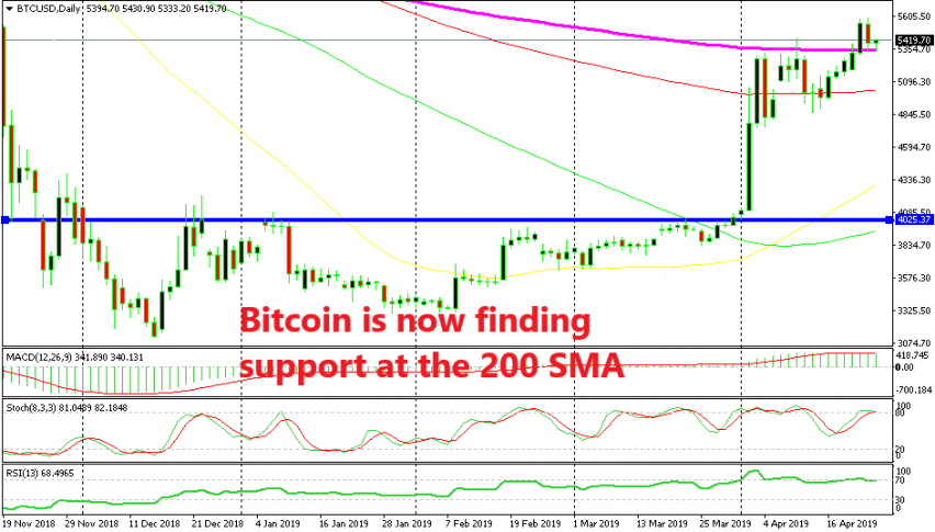 Bitcoin should remain bullish if it stays above the 200 SMA