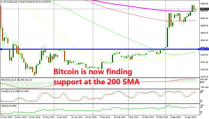 Bitcoin should remain bullish if it stays above the 200 SMA