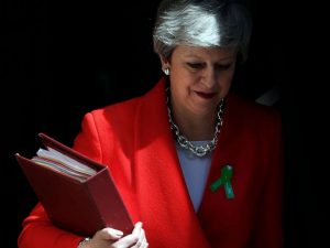 Theresa May's time is over
