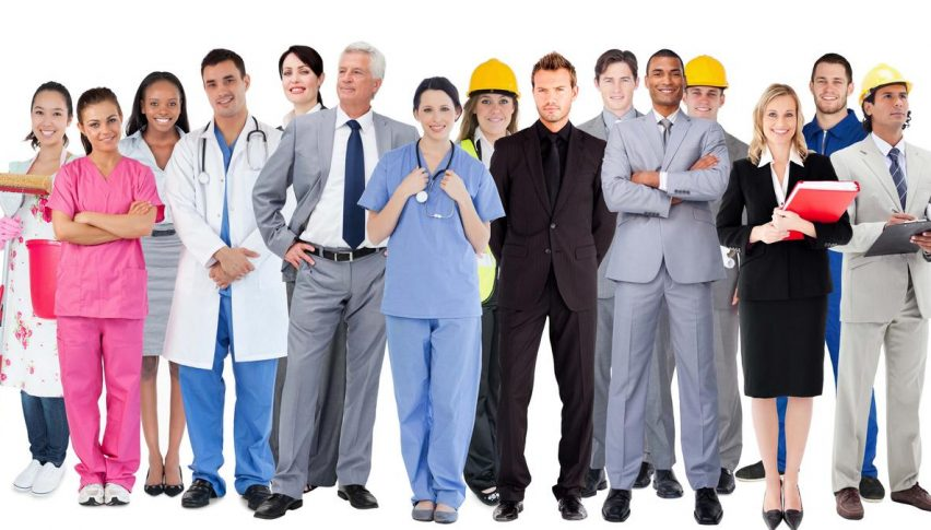 The service sector is a better shape than manufacturing globally