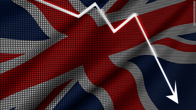 The UK economy has taken another downturn